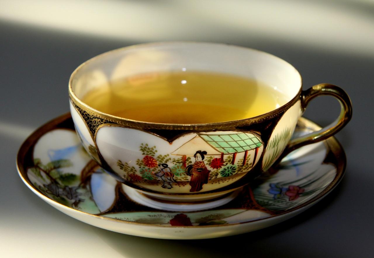 Té verde, jengibre y tomillo para el resfriado